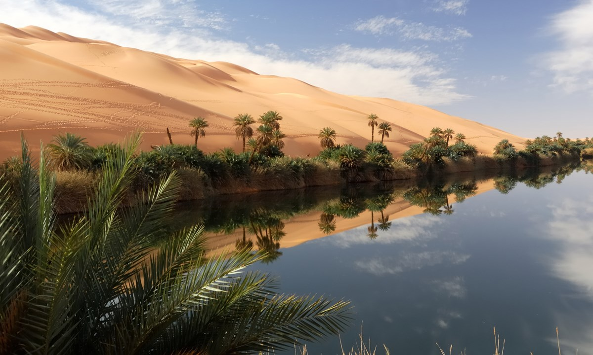 10 Beautiful Oasis Photos From Around The World